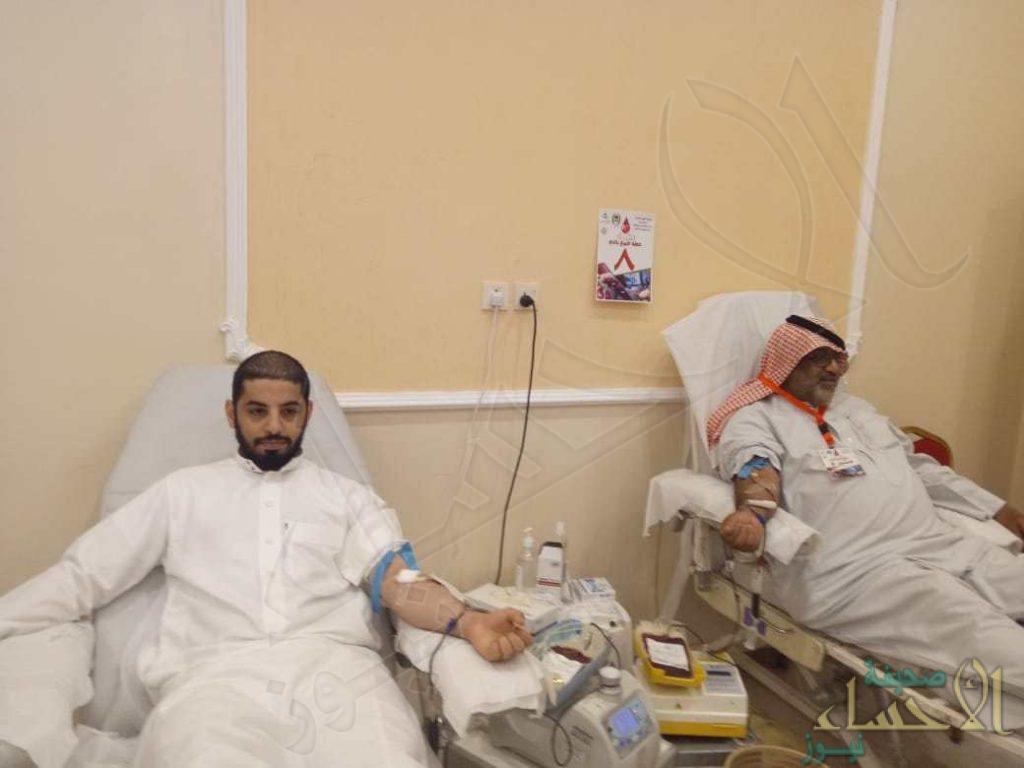 147 وحدة دم من مختلف الفصائل في حملة جمعية الجفر الخيرية