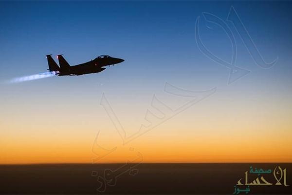 التحالف: استهداف وتدمير خمسة مواقع دفاع جوي وموقع تخزين صواريخ بالستية بصنعاء تتبع الحوثي