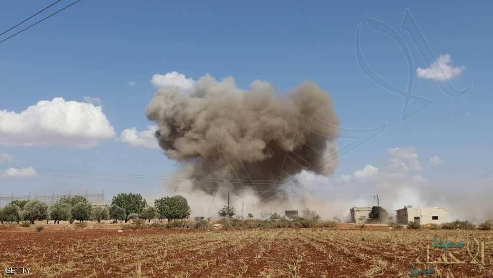 غارات روسية عنيفة تمهد الطريق لمعركة إدلب