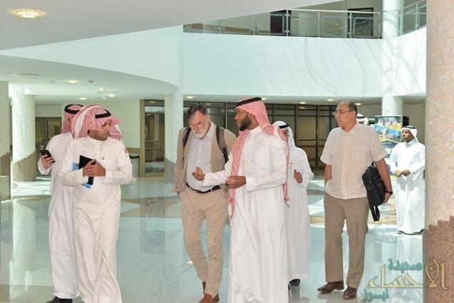 """وفد من منظمة الـ""""FAO"""" في زيارة لكلية """"الطب البيطري"""" بجامعة الملك فيصل"""