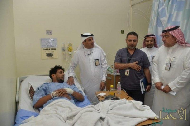 """""""السيالي"""" يتفقد الخدمات الصحية بالليث ويطمئن على مصابي حادث المعلمات"""