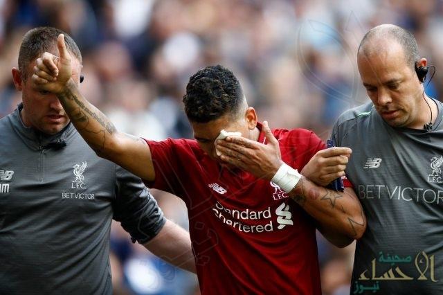 شاهد.. ليفربول يطمئن جماهيره بعد انتشار صورة مرعبة لفيرمينيو !!