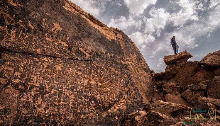 في الخرج.. الكشف عن آثار يعود تاريخها إلى 100 ألف عام !!
