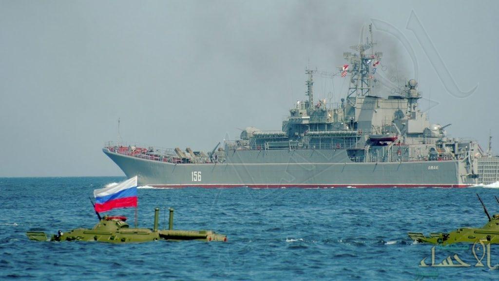 """""""البحرية الروسية"""" تغلق مناطق بحرية واسعة شرق المتوسط"""
