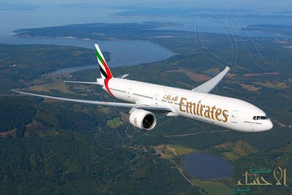 طيران الإمارات: إصابة نحو 10 ركاب بوعكة صحية