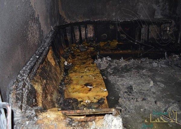 بالصور.. اختناق 14 امرأة وطفلًا في حريق قاعة أفراح بتبوك