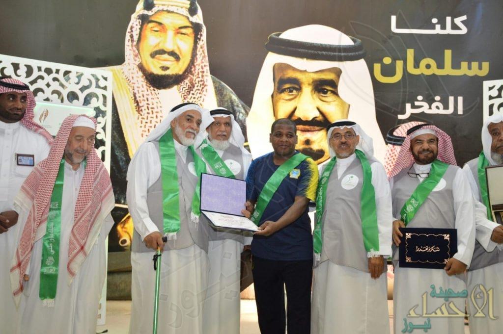"""""""جمعية المتقاعدين"""" تحتفل باليوم الوطني الـ88 في نادي الحي بـ""""الهفوف"""""""