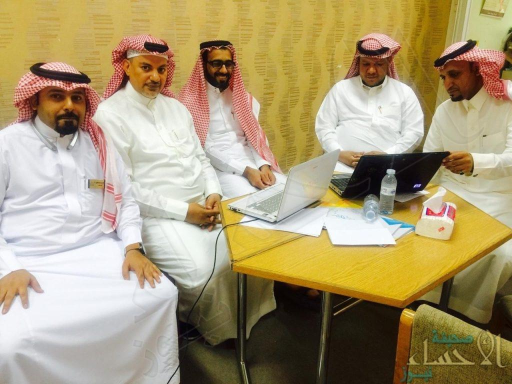 """بمشاركة متميزة .. """"الحسن بن علي"""" تنفذ برنامج """"ملف الإنجاز الإلكتروني للمعلم"""""""