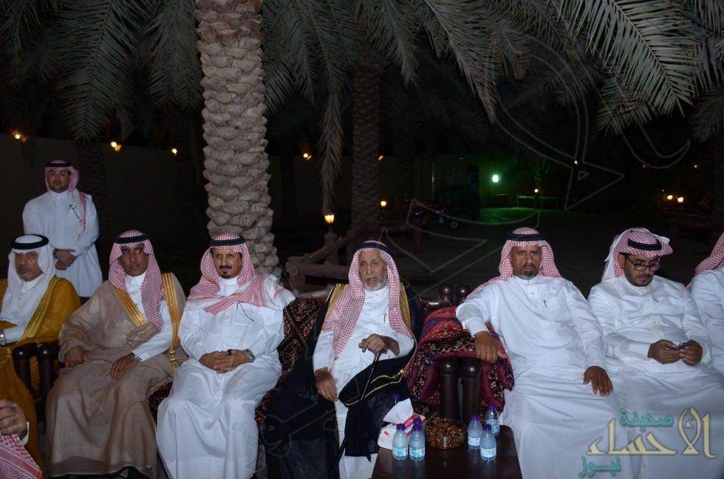 """""""العبدالله"""" تحتفل بعودة الشيخ """"بن شريم"""" من رحلته العلاجية"""