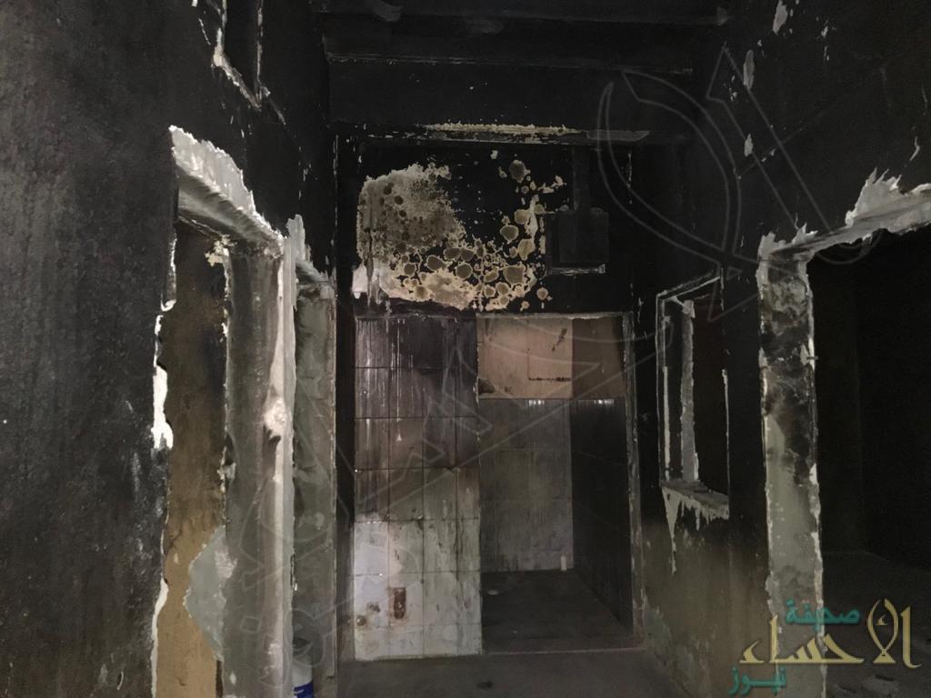 """""""خيرية العيون"""" ترمم منزل أسرة سجين بعد احتراقه"""