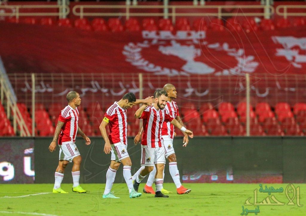 ضمن دوري كأس محمد بن سلمان فوز الوحدة وتعادل الحزم والفيحاء
