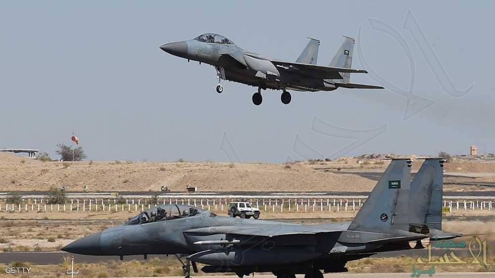التحالف يزيد قدراته الجوية لدعم عمليات دعم الشرعية باليمن