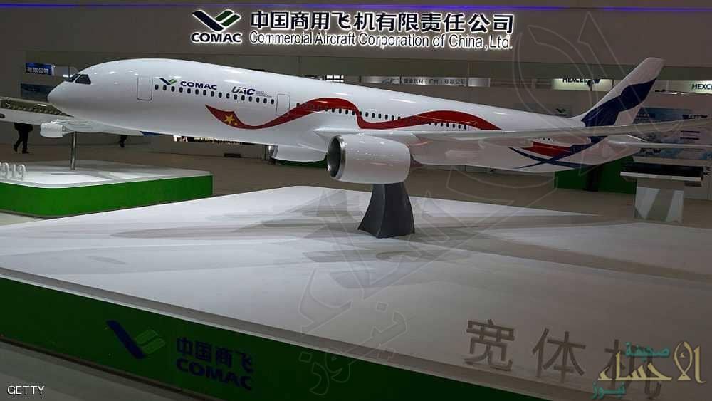 طائرة ركاب صينية روسية لمنافسة عملاقي الطيران