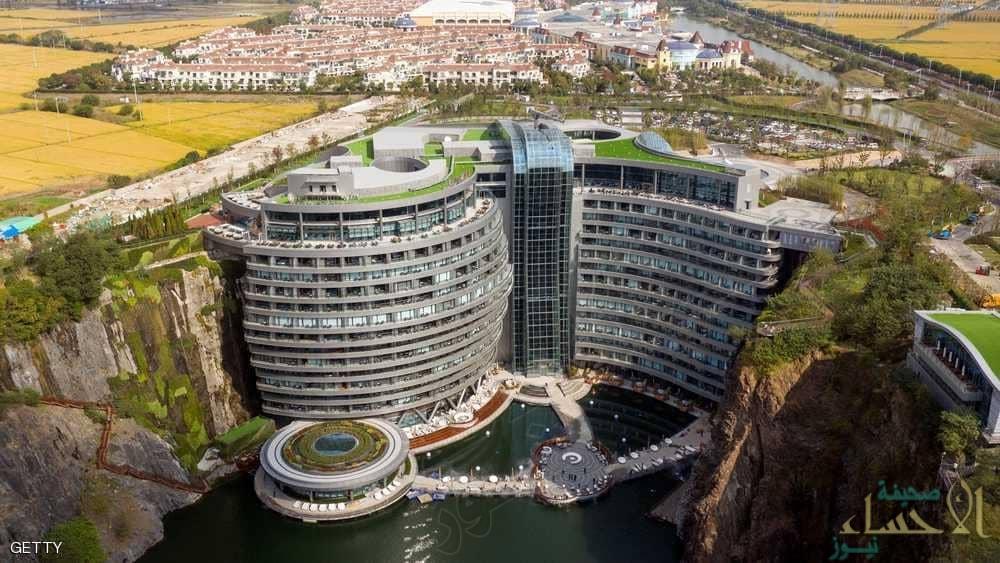 """بالصور.. """"الصين"""" تدشن أول فندق """"تحت الأرض"""" وهذه تكلفة الإقامة لليلة واحدة!!"""