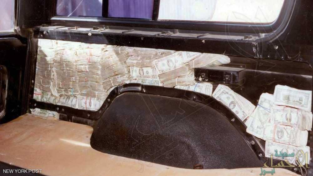 سيارة محشوة بـ 1.2 مليون دولار لشقيق أخطر تاجر مخدرات