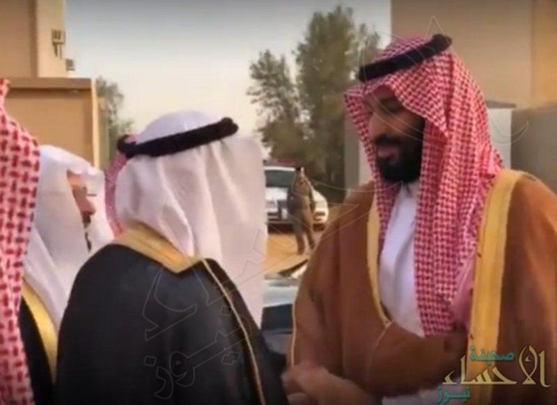 """بالفيديو … الأمير """"محمد بن سلمان"""" يزور عدداً من المواطنين بالقصيم"""