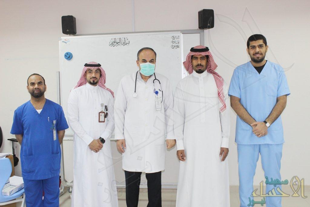 """""""فريق صحي"""" يزور ثانوية """"سعد بن عبادة"""""""