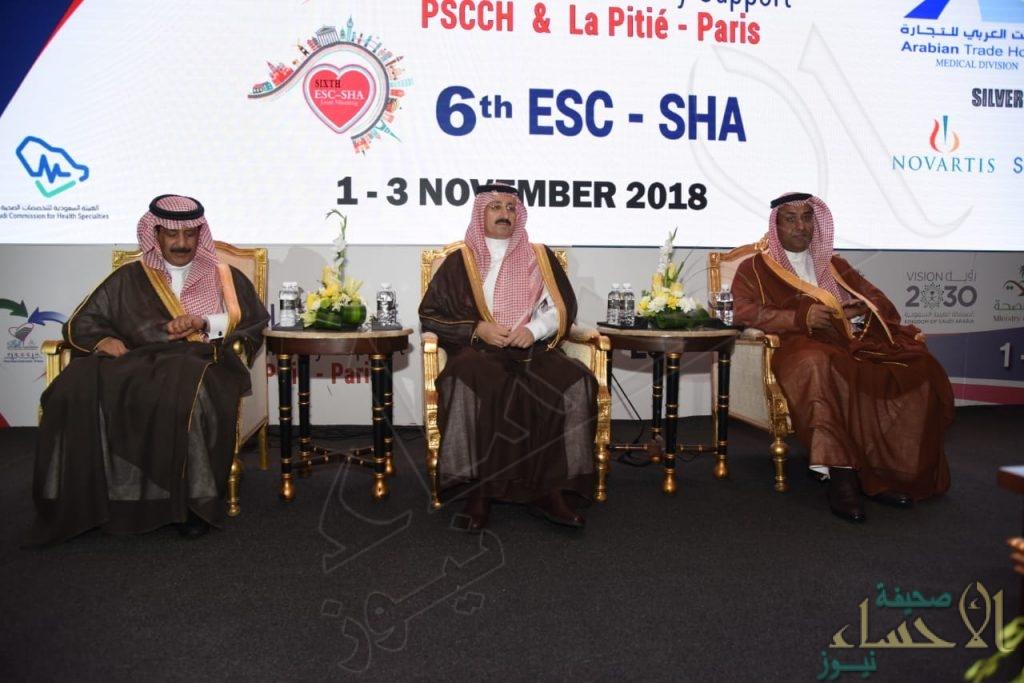 """بالصور.. تدشين المؤتمر الدولي للقلب الصناعي وزراعة القلب برعاية أمير """"المنطقة الشرقية"""""""