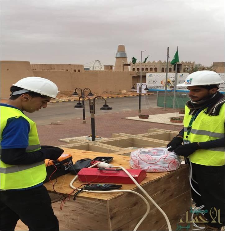 """صيانة أكثر من 80 منزل و 20 مسجد .. إنجاز جديد يُحسب لطلاب""""صناعي الأحساء"""" الثالث"""