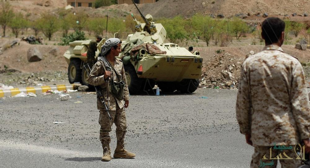 الجيش اليمني يعثر على مخزن أسلحة للميليشيا في منطقة كتاف