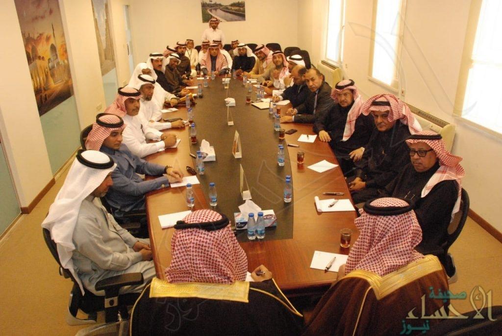 بالصور… اللجنة العليا بملف #الاحساء_عاصمة_السياحة_العربية تعقد اجتماعها الأول