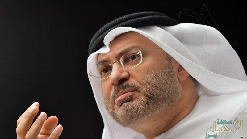 """""""مجلس التعاون"""" و """"قطر"""".. قرقاش يوضح ويعلن: في هذا الوقت تنتهي الأزمة مع الدوحة"""