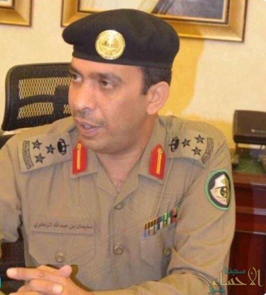 العميد سليمان الزكري مديراً لمرور منطقة الرياض