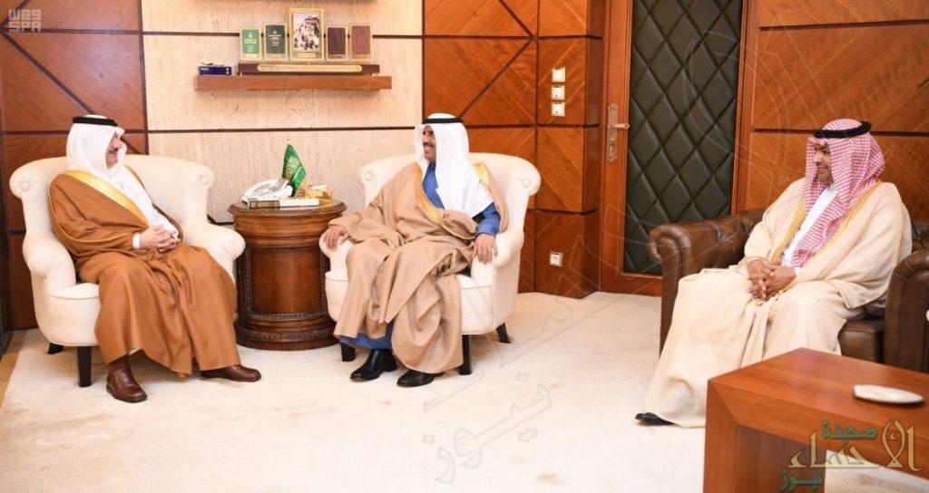 أمير المنطقة الشرقية يستقبل وكيل وزارة الخارجية للشؤون القنصلية