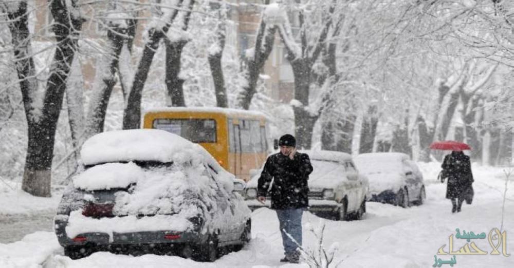 مصرع 64 شخصاً في أوكرانيا بسبب البرد