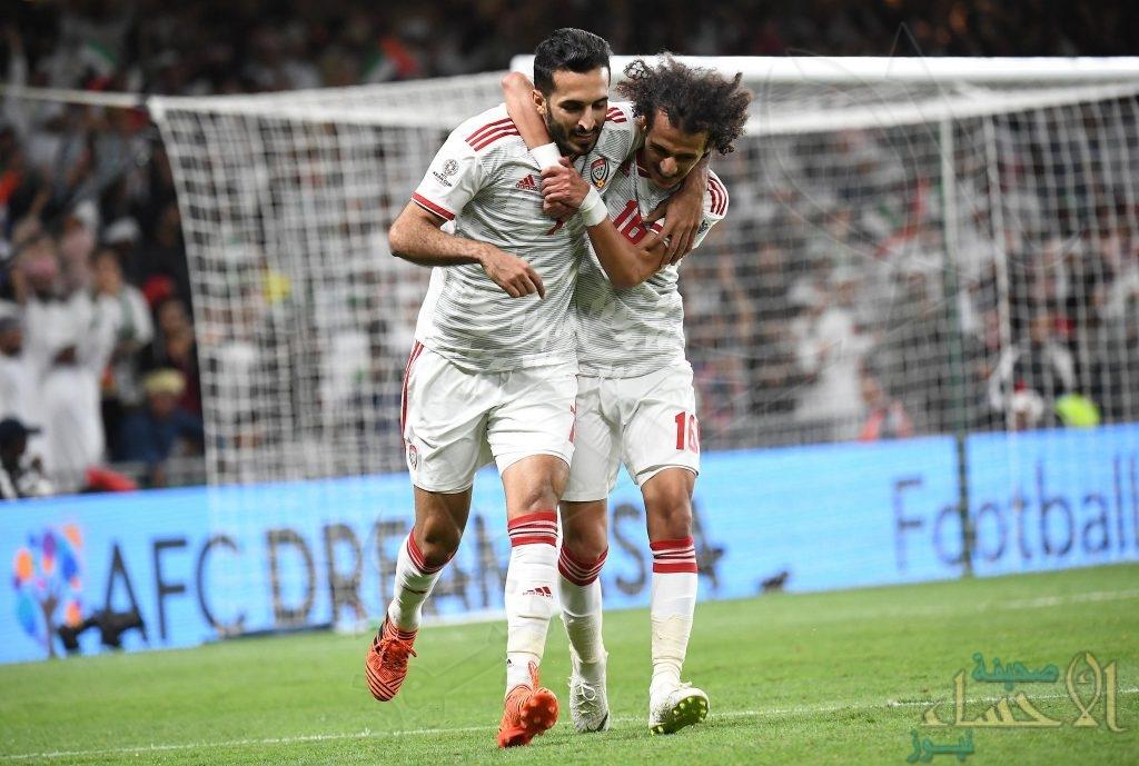 """بعد الفوز على أستراليا """"الإمارات"""" يتأهل إلى دور النصف نهائي"""