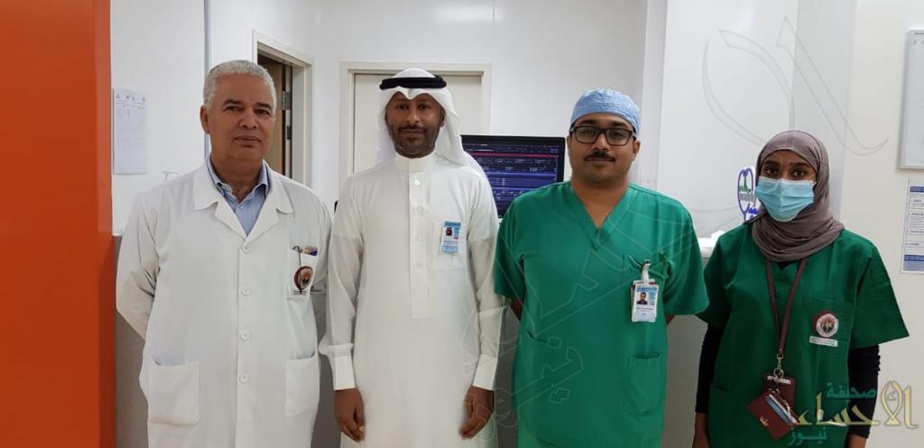 """عملية جراحية نادرة تُسجل إنجاز أحسائي جديد على يد الطبيب """"المغنم"""""""
