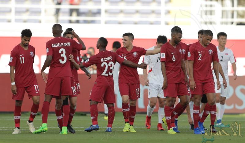 منتخب قطر يلتحق بركب المتأهلين لدور ثمن النهائي لكأس آسيا