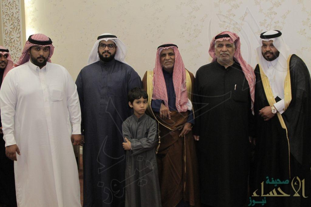 """بالصور .. """"القعيمي"""" و """"العنزي"""" يحتفلان بزفاف """"محمد"""""""