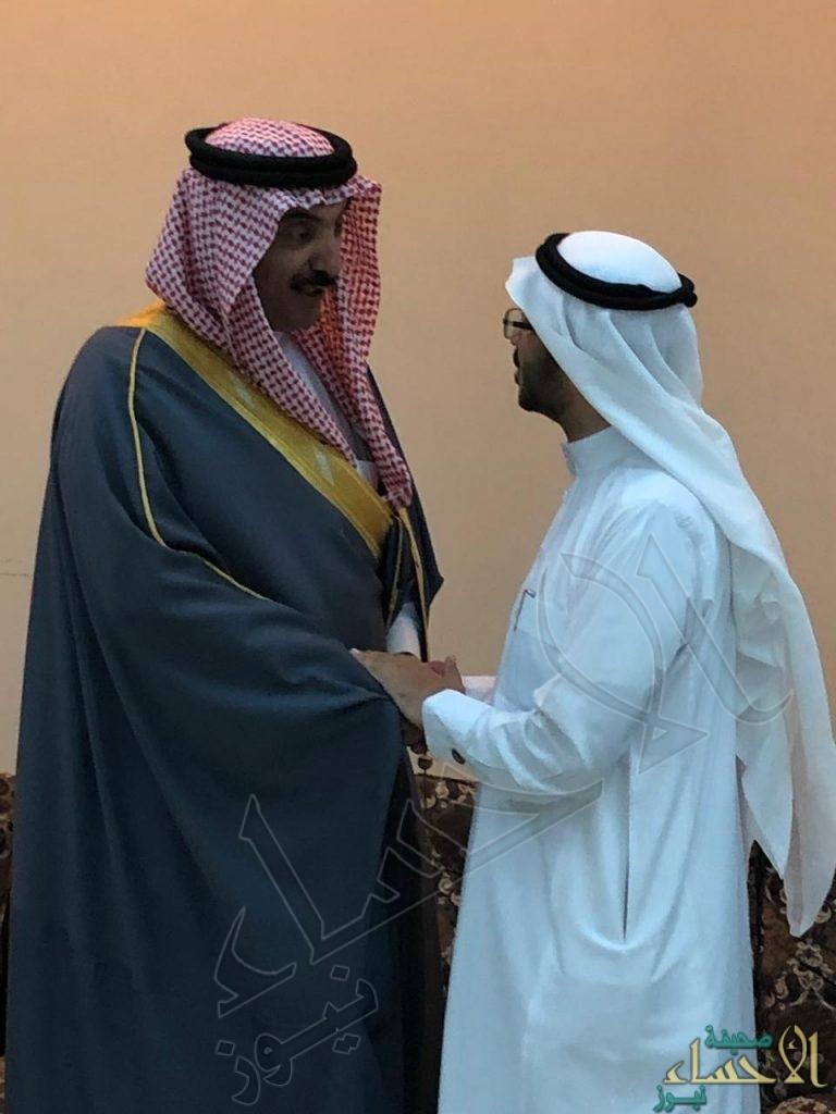 """الأمير عبدالعزيز بن جلوي يُعزي أسرة """"الفريدان"""""""