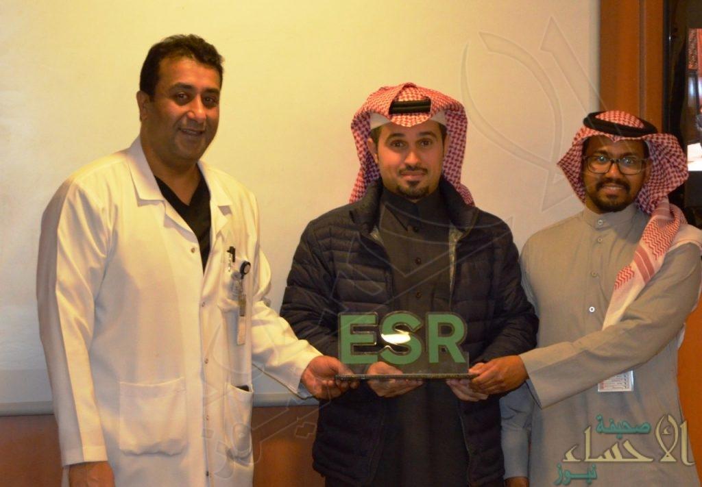 """الأمير """"سعود بن نايف"""" يُسلم """"مركز الأمير سلطان"""" للقلب جائزة """"السائق المثالي"""""""