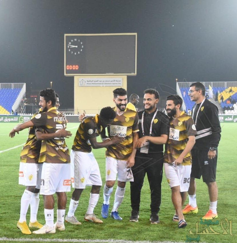 فوز أحد والأهلي في الجولة 19 من دوري كأس الأمير محمد بن سلمان للمحترفين