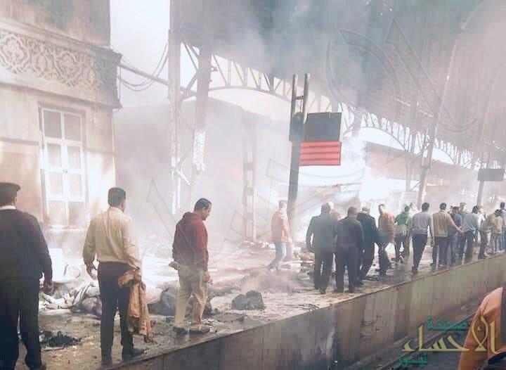 24 قتيلا و50 مصابًا في حادث قطار محطة مصر