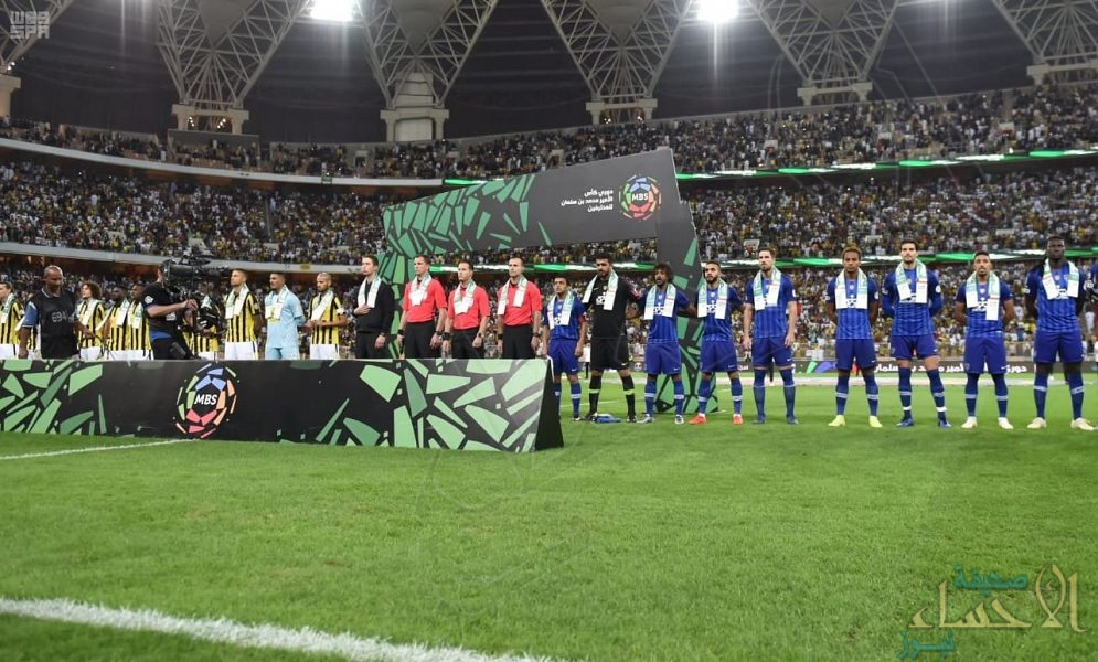 """سفير """"الكويت"""" لدى المملكة يشكر رئيس هيئة الرياضة لحمل لوحات التهنئة بمناسبة اليوم الوطني الكويتي خلال مبارة الهلال والاتحاد"""