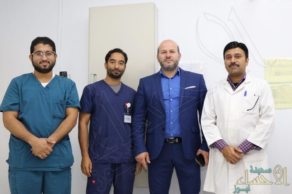 """""""19"""" عملية خلال عطلة نهاية الأسبوع في """"مستشفى الملك فهد"""""""