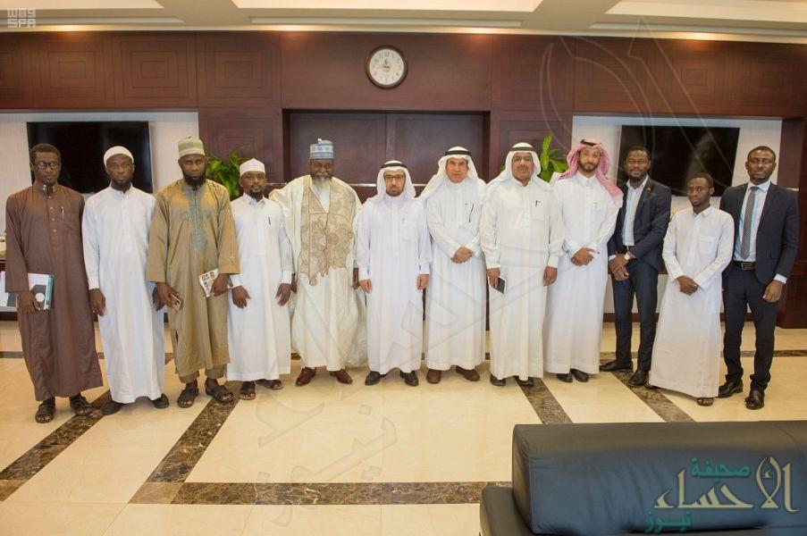 مدير جامعة الملك فيصل يبحث التعاون المشترك مع سفير جمهورية غانا في المملكة