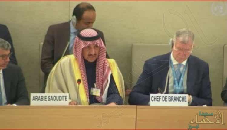 رئيس هيئة حقوق الإنسان: المملكة ترفض بشكل قاطع أي حديث عن تدويل قضية خاشقجي
