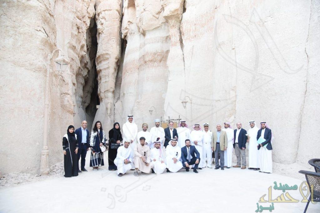 """بالصور … """"جولة سياحية"""" لعدد من الوزراء و الدبلوماسيين في """"عاصمة السياحة العربية"""""""