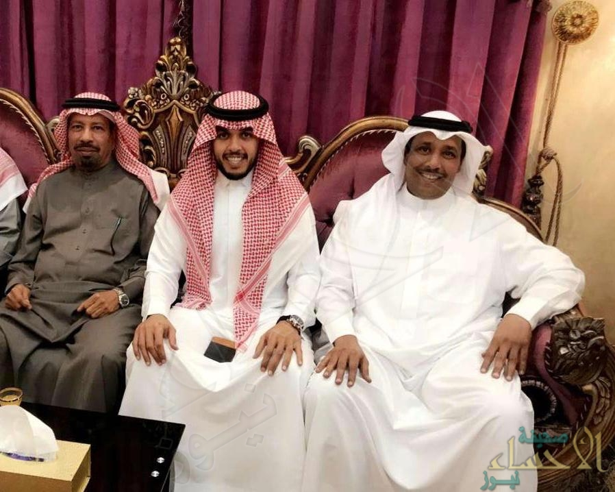 """النمشان"" تحتفي بعقد قران ابنها ""عبدالله"""