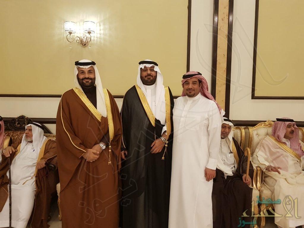 """أسرة """"العمير"""" تحتفي بزفاف ابنها """"عبدالله"""""""