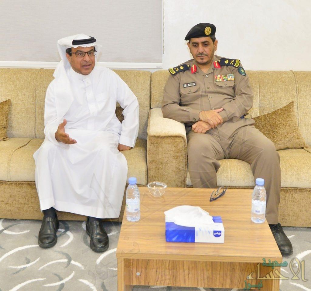 رئيس المؤسسة العامة للري يستقبل مدير الدفاع المدني بالمنطقة الشرقية