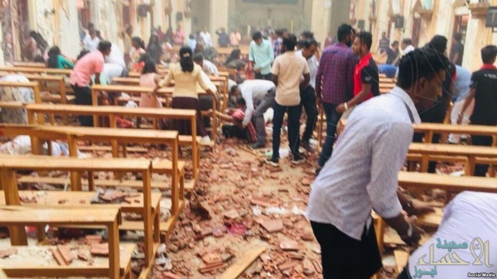 بعد 8 تفجيرات و207 قتيلاً .. فرض حظر التجول في سريلانكا