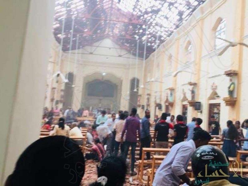 """""""3"""" انفجارات تهز سريلانكا والحصيلة: """"42"""" قتيلاً وعشرات المصابين"""