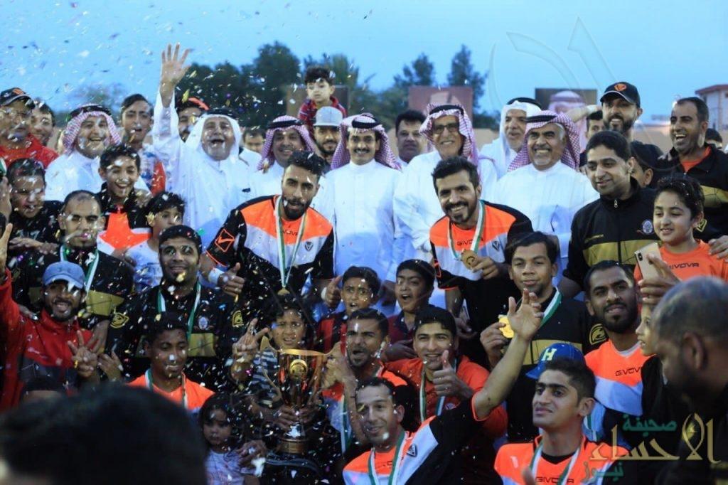"""بعد فوزه على """"الروضة"""" الصفا يتوج ببطولة المملكة لأندية الدرجة الثالثة لكرة القدم"""