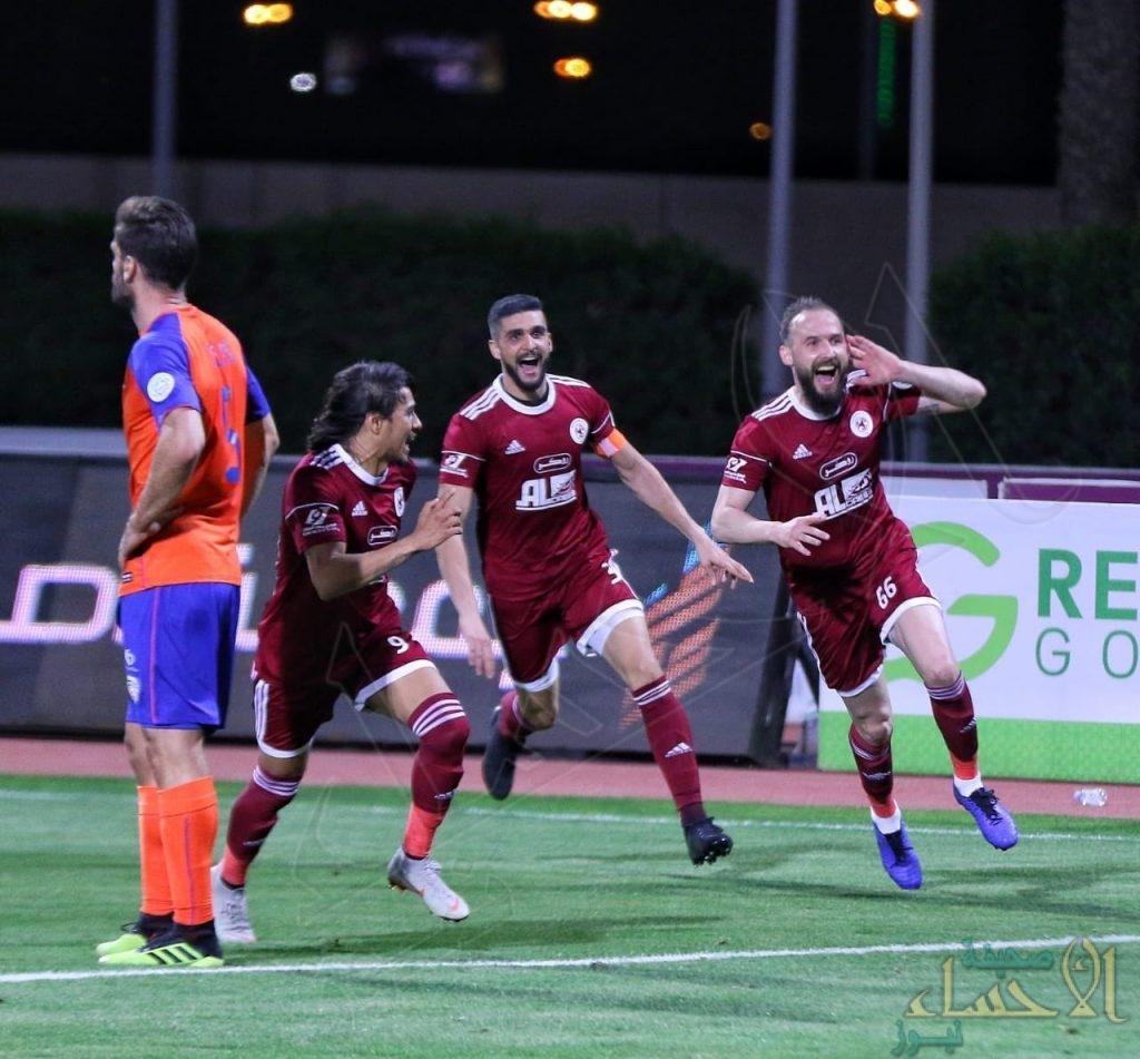 في مباراة مثيرة .. الفيصلي يهزم الفيحاء بأربعة مقابل ثلاثة أهداف