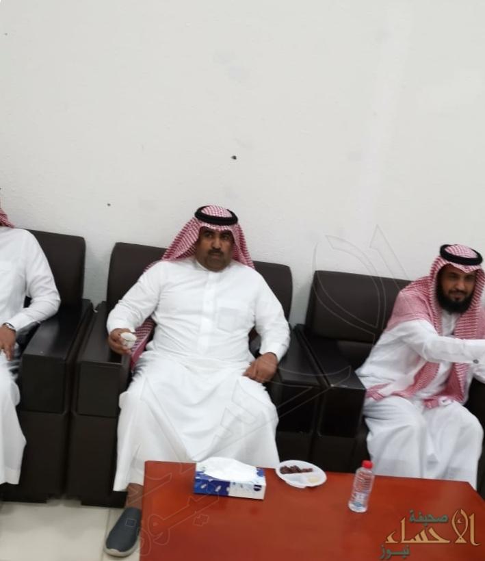 """مدراء الدوائر الحكومية بالبطحاء يحتفون بـ""""العنزي"""" مدير الجمرك الجديد"""